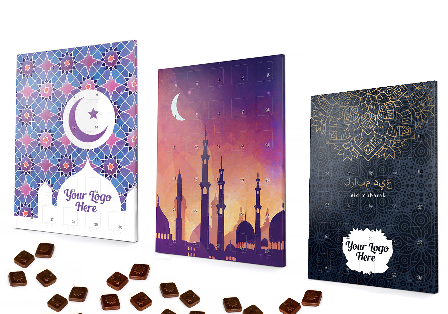 Ramadan Chocolate Sweet Calendar